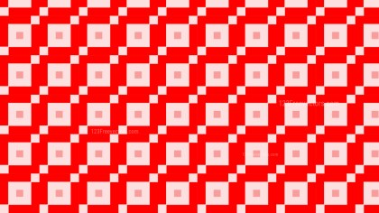 Red Geometric Square Background Pattern Vector Illustration