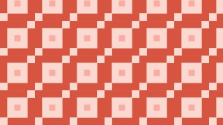 Red Seamless Square Pattern Vector