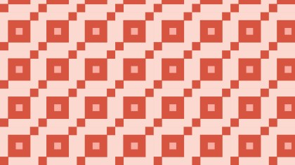 Red Seamless Square Pattern Background Vector Art