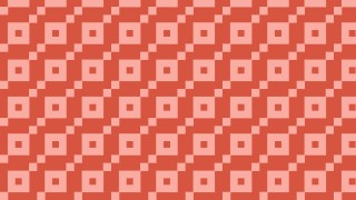 Red Square Pattern