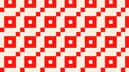 Red Geometric Square Pattern Background