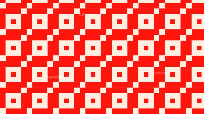 Red Geometric Square Background Pattern