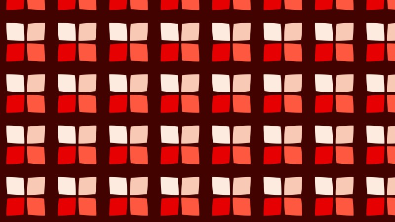 Dark Red Seamless Square Pattern Background