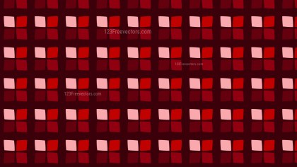 Dark Red Seamless Geometric Square Pattern