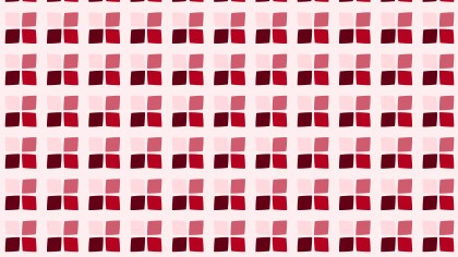 Red Seamless Geometric Square Background Pattern