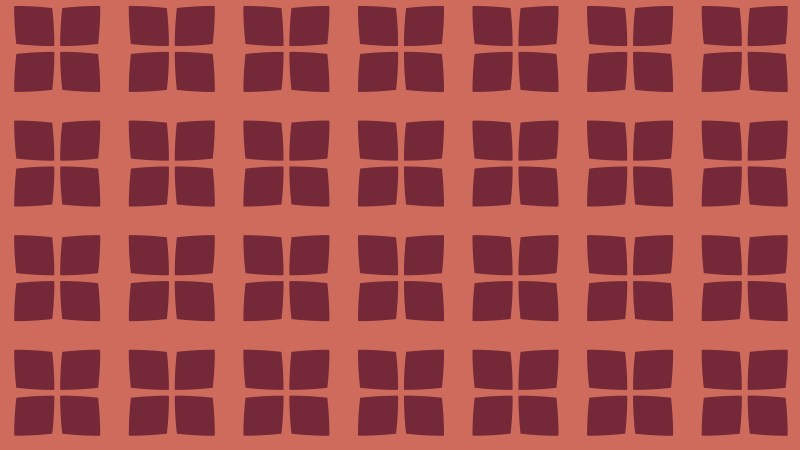Red Square Pattern Illustrator