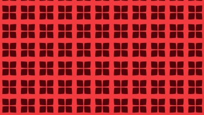 Dark Red Geometric Square Pattern Vector Art