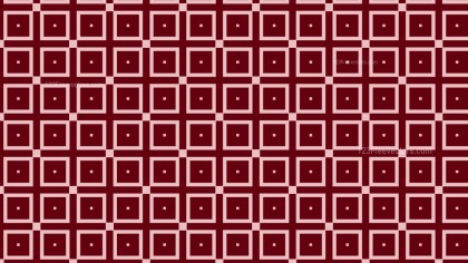 Dark Red Geometric Square Background Pattern Illustration
