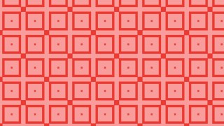 Red Seamless Square Pattern Design
