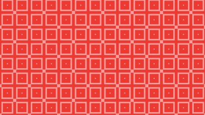 Red Seamless Square Pattern Background Image