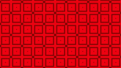 Red Seamless Square Background Pattern Vector Graphic