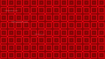 Dark Red Seamless Geometric Square Pattern Vector Image