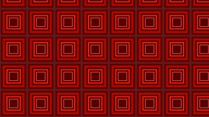 Dark Red Concentric Squares Background Pattern