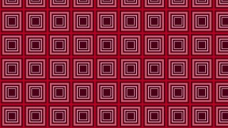 Dark Red Seamless Geometric Concentric Squares Pattern Vector