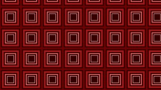 Dark Red Concentric Squares Pattern Background Vector Art