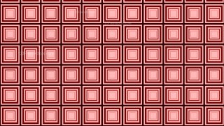 Red Concentric Squares Background Pattern Graphic