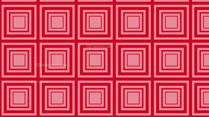 Red Concentric Squares Pattern