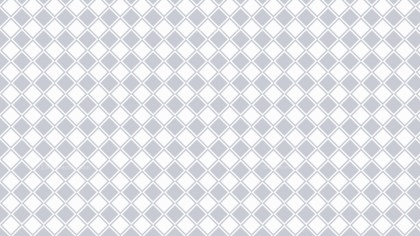 White Seamless Geometric Square Pattern Background