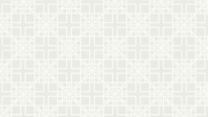 White Square Background Pattern Design