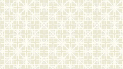 White Geometric Square Pattern Background Vector Graphic