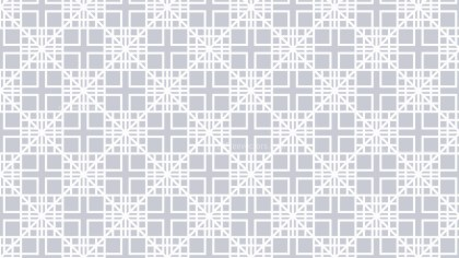 White Seamless Square Pattern Illustrator