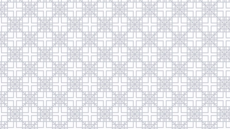 White Seamless Square Pattern Background Vector Illustration