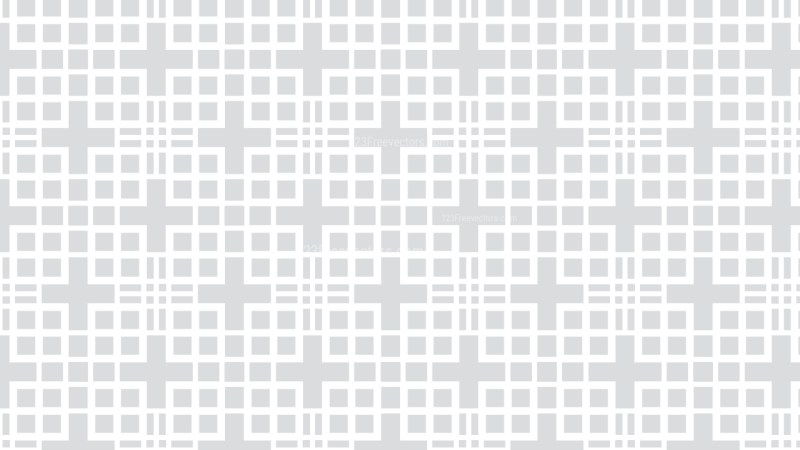 White Seamless Geometric Square Pattern Background Graphic