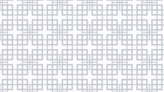 White Geometric Square Pattern