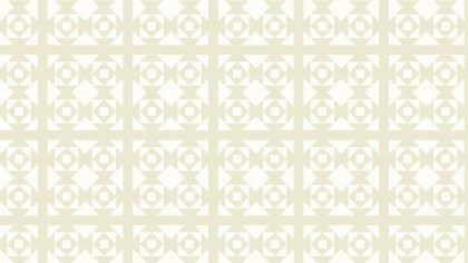 White Seamless Geometric Square Pattern