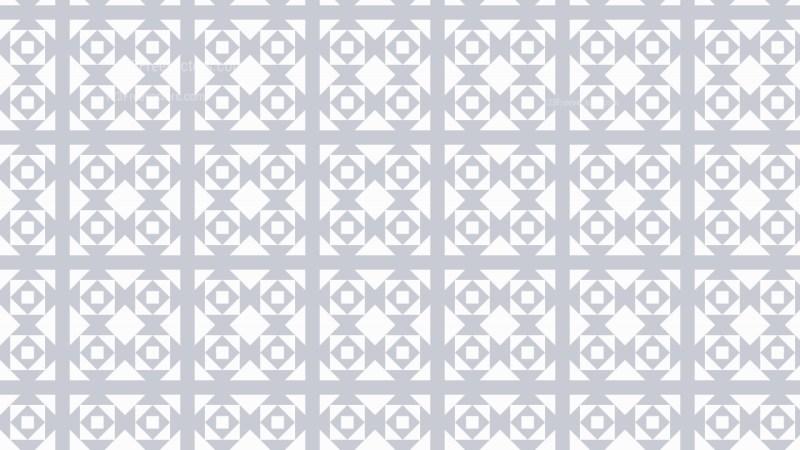 White Seamless Geometric Square Pattern Background