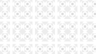 White Square Pattern Vector Graphic