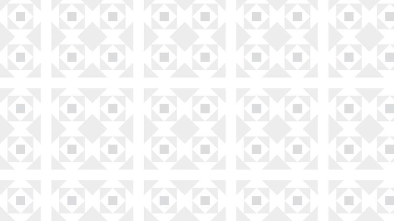 White Square Pattern Vector Graphic
