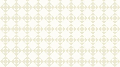 White Geometric Square Pattern Vector Illustration