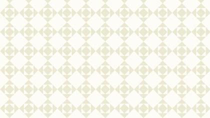 White Geometric Square Pattern Vector Illustration