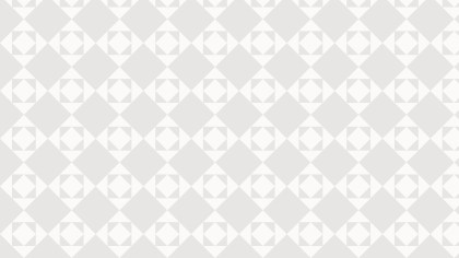 White Seamless Square Background Pattern Design
