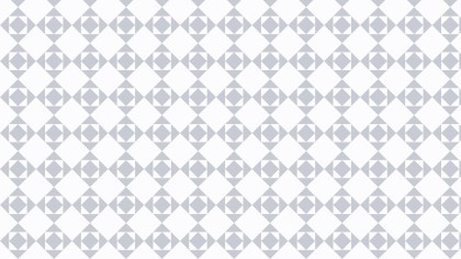 White Seamless Geometric Square Pattern Image