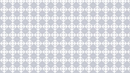 White Seamless Geometric Square Pattern Background Vector Graphic