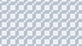 White Geometric Square Pattern