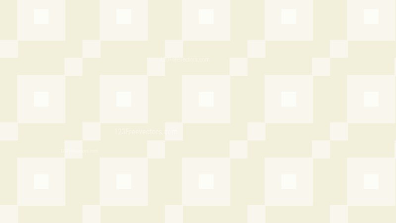 White Seamless Square Pattern