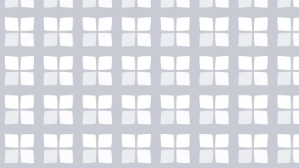 White Geometric Square Pattern Illustration