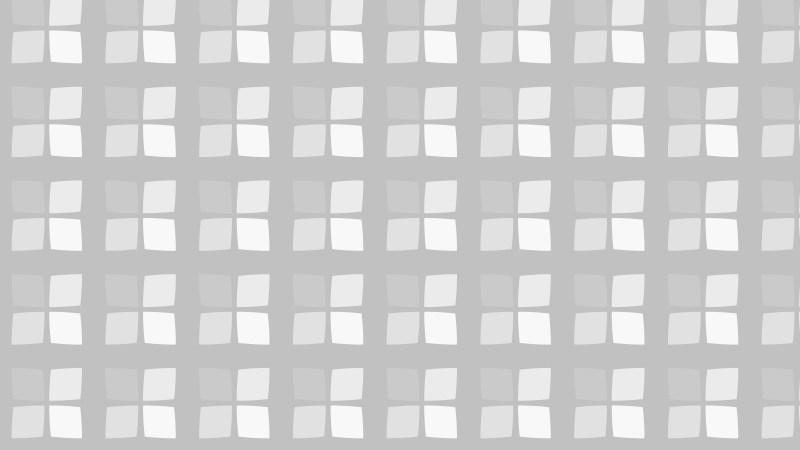 White Geometric Square Pattern Background Design