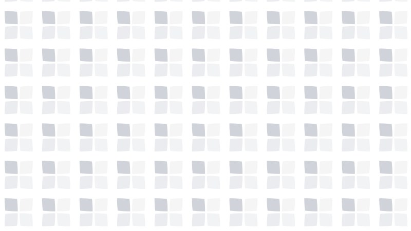 White Seamless Square Pattern Background Vector Image