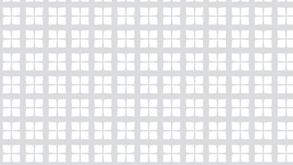 White Seamless Geometric Square Pattern Vector Illustration