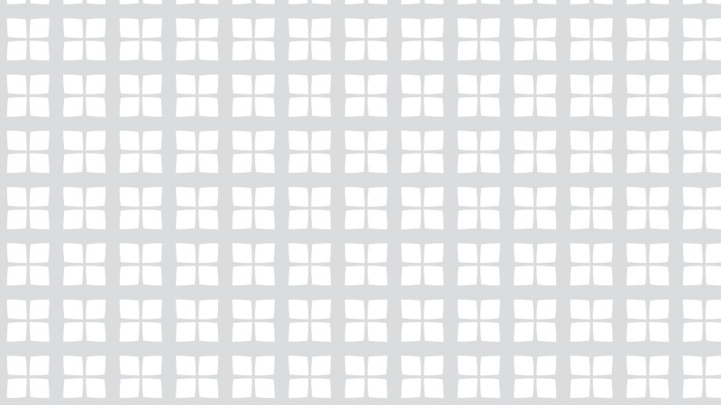 White Seamless Geometric Square Pattern Vector Illustration