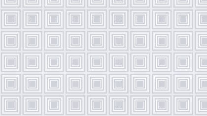 White Concentric Squares Pattern Graphic