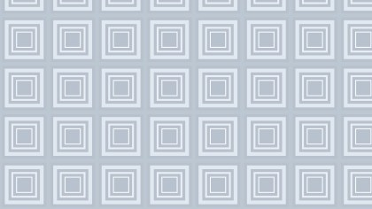 White Concentric Squares Pattern Background Illustration