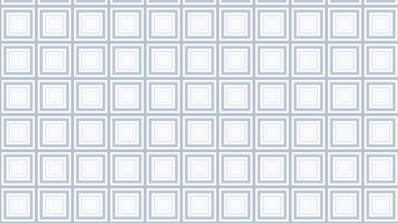 White Concentric Squares Background Pattern Design