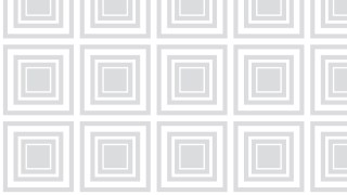 White Seamless Concentric Squares Pattern Background Vector Graphic