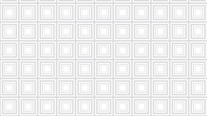 White Seamless Concentric Squares Background Pattern Vector Image