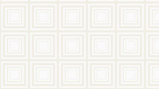 White Concentric Squares Pattern